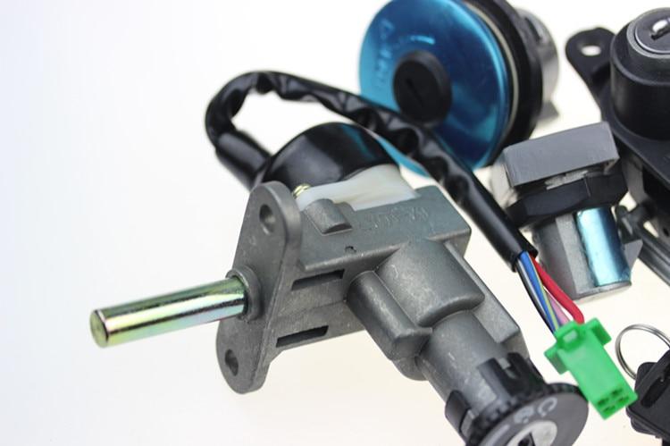 STARPAD para accesorios de motocicleta Haojue HJ125T-9C juegos de cerraduras de estrella de la cerradura completa/DL segundo año que apoya el país 3