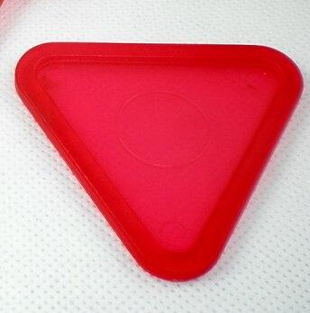 """חדש 1pcs אדום משולש אוויר דחפן שולחן הוקי פאק 63mm 2-1/2 """"שוערים 70"""