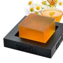 Hohe Qualität 100% Handgemachte Bleaching Peeling Glutathion Arbutin Honig Kojic säure Seife 100g