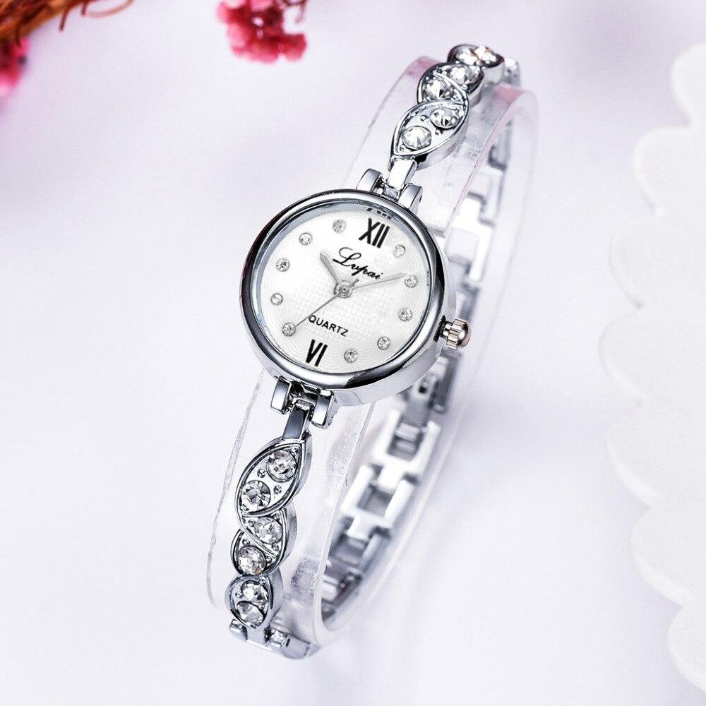Luxury Bracelet Quartz Watches For Women Alloy Band Metal Strap Clock Analog Woman Wrist Watch 2019 Brand Fashion Creative Watch