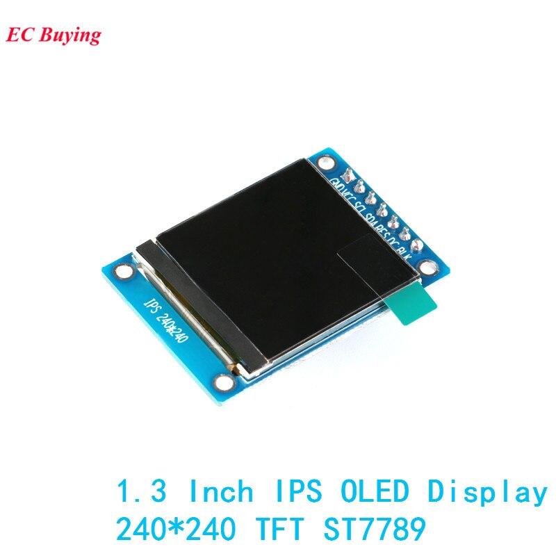 1,3 дюйма IPS oled-дисплей модуль 240*240 RGB TFT для Arduino DIY LCD плата ST7789 7Pin 4-проводной электронный
