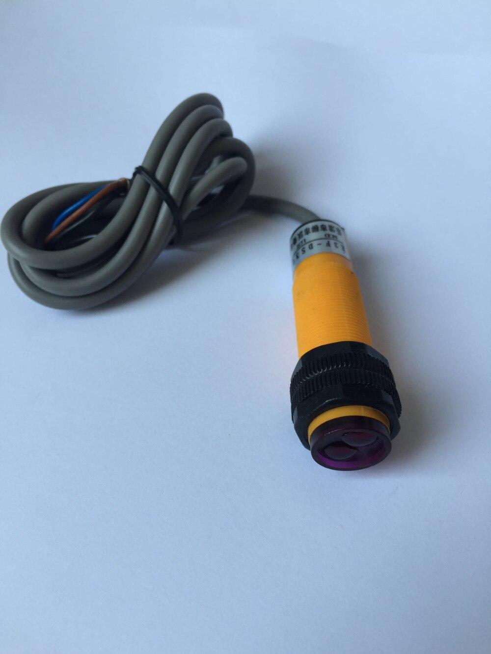 منتشر الكهروضوئي التبديل E3F-DS50C1 الأشعة تحت الحمراء الاستشعار NPN عادة فتح قابل للتعديل