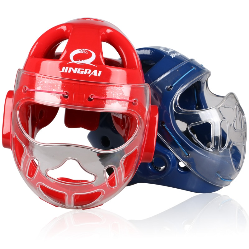 Rosto cheio cabeça guarda capacete karate taekwondo capacete mma kick boxe cabeça protetor de treinamento profissional capacetes