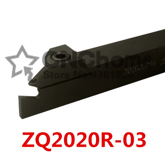 ZQ2020R-3/ZQ2020L-3 de 20mm soporte de ranurado externo cortador de ranurado de 3mm adecuado para SP300, barra de perforación, cnc, máquina, corte