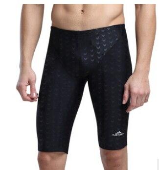 SBART traje de baño hombres bañadores Shorts 2017 marca traje de baño hombres Lycra hombres natación Jammers Sharkskin traje de competición