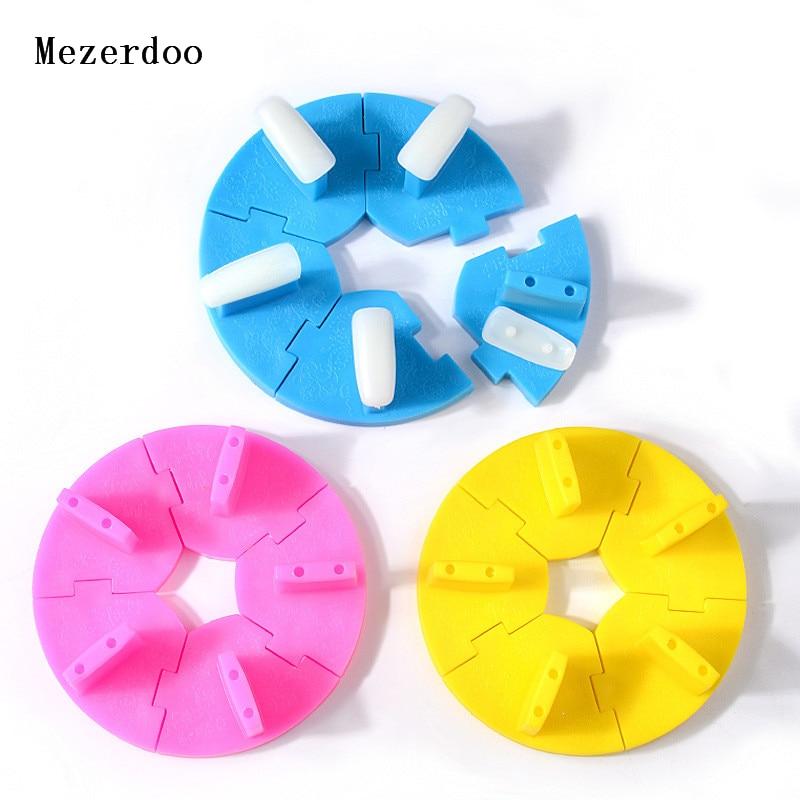 Marco de entrenamiento de asiento de loto removible, DIY para decoración de uñas en esmalte de uñas Gel UV, accesorio de manicura para mesa de puesto de práctica