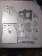 3d drukarki OX CNC części maszyn CNC cięcia Aluminium płyty bramowe zestaw kąt wspólne płyta tylna oś X/przód płyta na 4 koła X Spacer