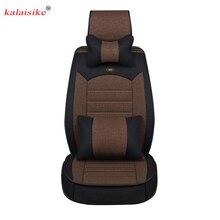 Kalaisike-housse de siège de voiture   Housse universelle de siège de voiture pour Besturn tous les modèles X40 B50 B70 B30 B90 X80, accessoires de voiture, coussin de voiture