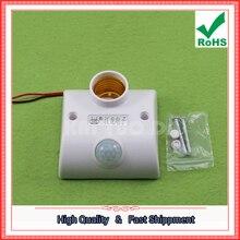Porte-lampe à induction 220V corps capteur interrupteur couloir retard porte-lampe E27 bouche à vis (D1B5)