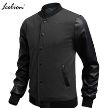 IceLion, otoño 2020, chaquetas para hombres, abrigos, diseños de moda, chaqueta para hombres, rompevientos de retales, prendas de vestir exteriores casuales, ropa de marca