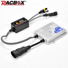 Racbox 12V 55W Ac Xenon Hid Slim Ballast Fast Bright Quick Start Voor Xenon Koplamp Gloeilamp Licht h1 H3 H4 H7 H11 9005 9006