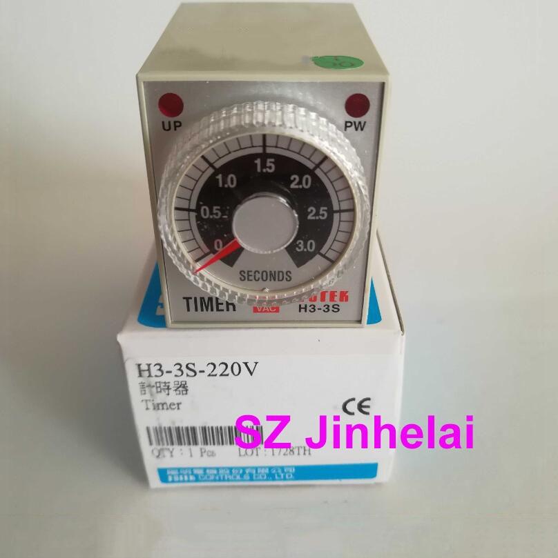 FOTEK H3-3S-220V أصيلة الأصلي ترحيل الوقت H3-3S 220 V