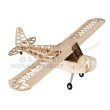RC Airplane Balsa wood J3 Plane Model Aircraft 1.2M Wingspan Aeromodelismo Woodines Model Plane Building Kits