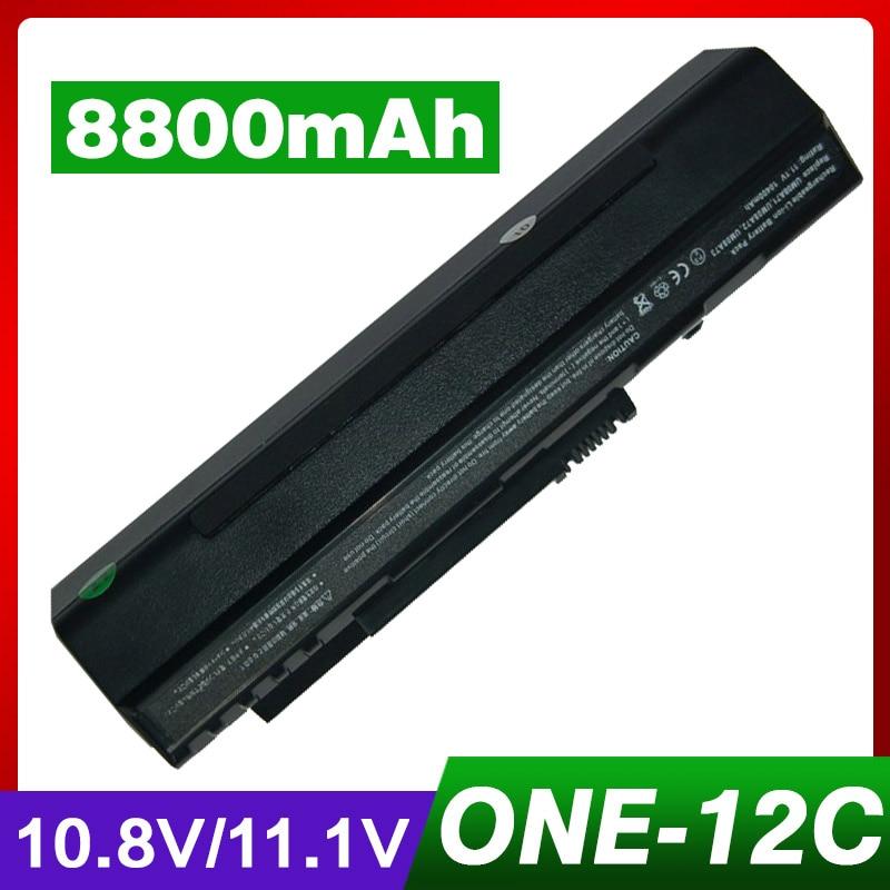 8800mah batería del ordenador portátil para ACER GATEWAY UM08A73 Aspire uno A110...