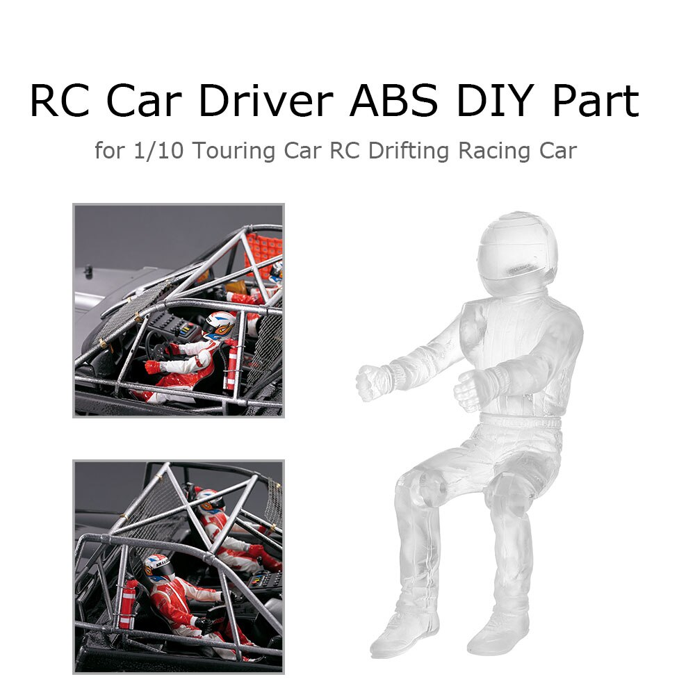 Killerbody RC coche conductor ABS DIY parte 1/10 Traxxas Axial HSP HPI RC gira a la deriva Coche