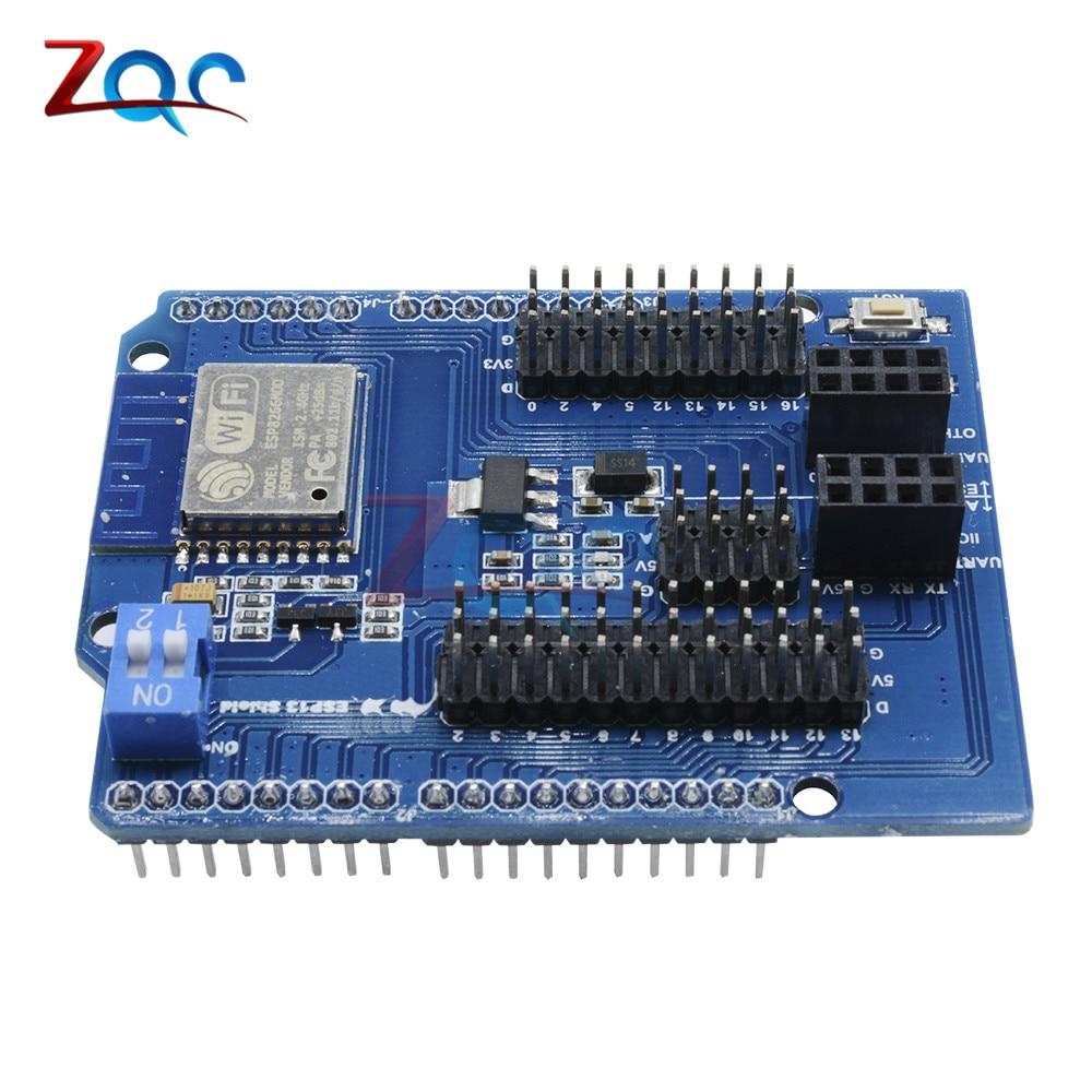 WiFi щит для Arduino UNO R3 2560 от ESP8266 WiFi веб-сервер Shield ESP-13 IoT DIY Development Board ESP13 Module One