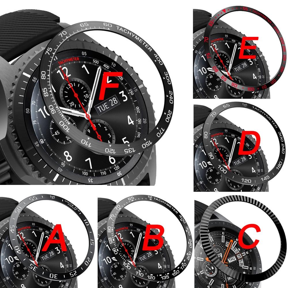 Для Samsung Gear Sport S3 Frontier S2 SM-R720 ободок кольцо Стайлинг рамка чехол Защита для Galaxy Watch 42 мм 46 мм