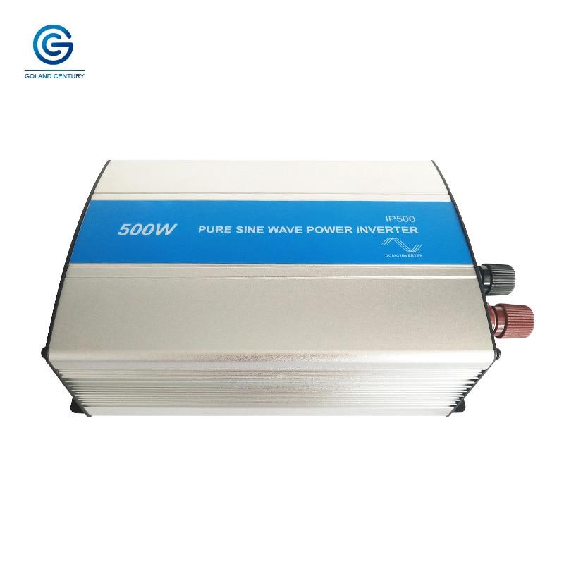 EPever-عاكس الطاقة الشمسية IP500 ، أحادي الطور ، 500W ، 500VA ، 12V24V ، DC إلى 110V ، 120V ، 220V ، 230V ، AC ، استخدام مصدر طاقة صغير في الحقول