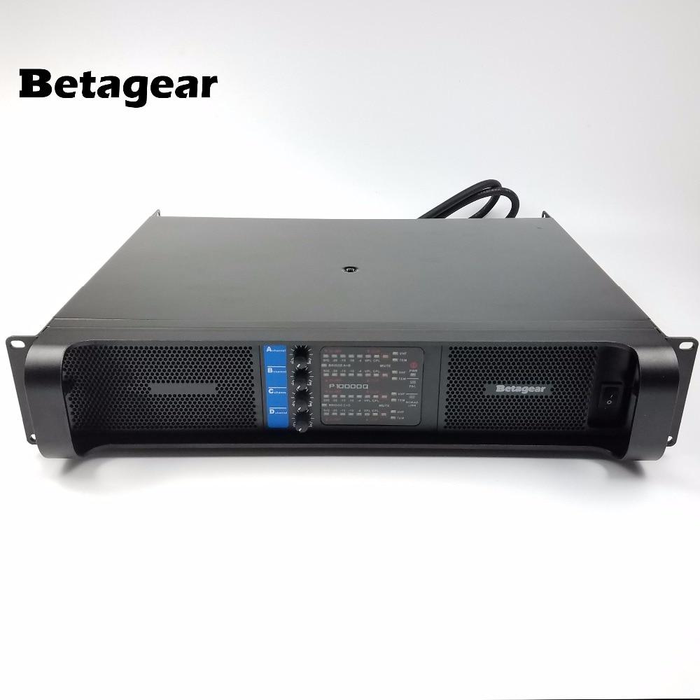 Betagear Lab-مضخم صوت احترافي BT10000q ، مجموعة خطية ، مضخم طاقة 10000q gruppen ، 2500W * 4