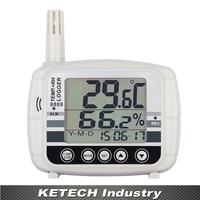AZ-8808 Portable Digital Large LCD Display Temperature and Humidity Recorder