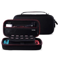 high quanlity switch storage bag eva protective hard case travel carrying game console handbag for nintendo switch case