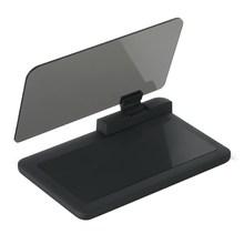 6 HUD Head Up Display Auto HUD Auto LCD Digital Windschutzscheibe Projektor Fahrzeug SUV Telefon/GPS Navigation Halter kopf Up Projekt