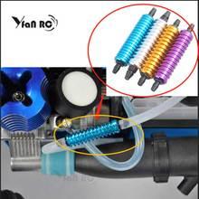 Yfan alliage aluminium Nitro gaz déchappement/carburant/contre-pression refroidisseur 1/10 1/8 RC Nitro passe-temps modèle voiture amélioré Hop-up rc pièces HSP