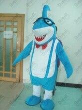 quality shark mascot costume blue ocean fish mascot costumes