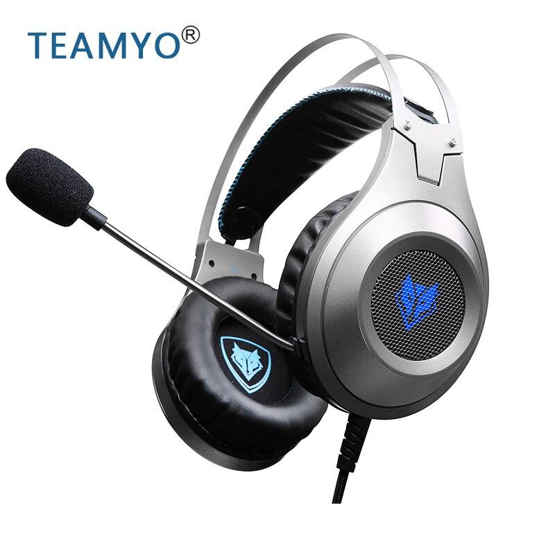 N2 ordinateur stéréo casque de jeu écouteurs casque gamer pour téléphone portable PS4 Xbox PC avec micro écouteurs pour xiaomi Samsung
