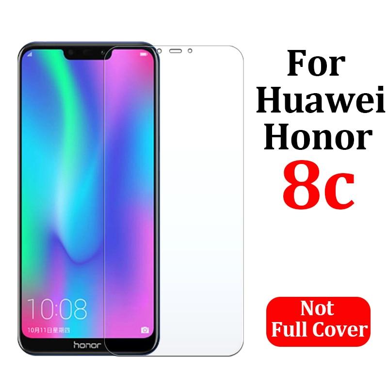 Vidrio templado para huawei honor 8c protector de pantalla huawey honor c8 armadura huawie hono protección mat hawei Ericsson honor 8 c pantalla 9H