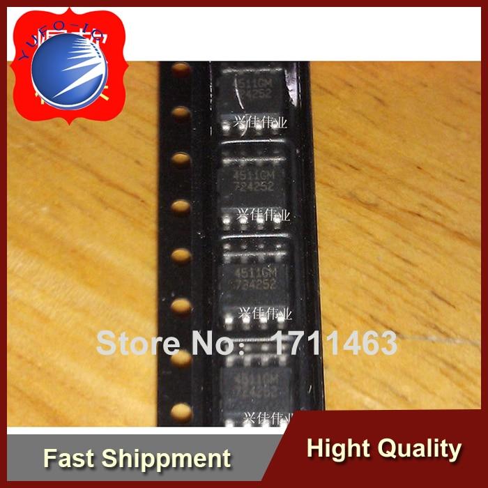 Envío Gratis 20 piezas nuevo original auténtico AP4511GM-HF 4511GM SOP8 LCD chip de potencia YF0918