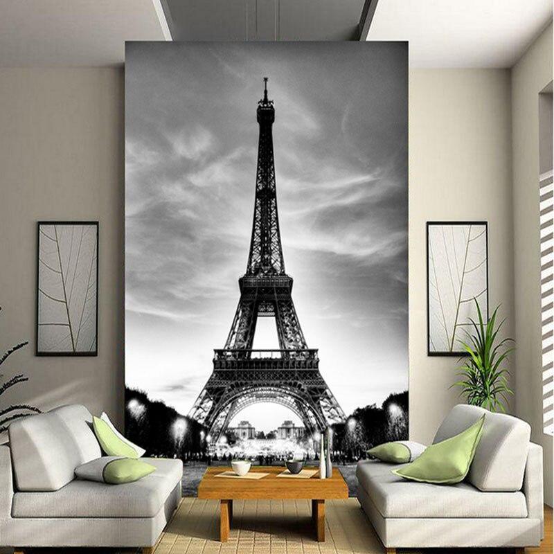Оптовая продажа, фотообои в европейском стиле с Эйфелевой башней, для гостиной, ТВ, коридора, входа, 3d стены, фото Мура
