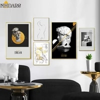 statue of david the road of art quote vogue nordic posters and prints canvas giclee art wall picturte for living room home decor