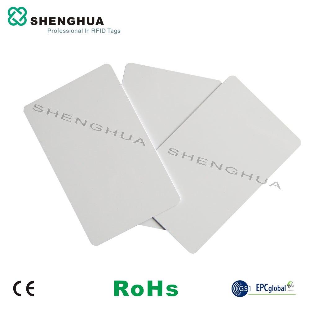 200 unids/lote Nfc tag213 tarjetas de visita imprimibles blanco Rfid Chip blanco Pvc Id NFC pegatina tarjeta impermeable de seguridad de largo alcance lectura