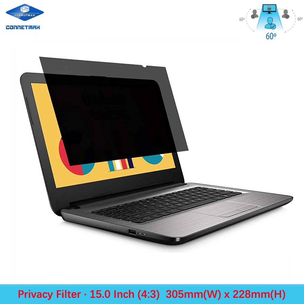 "15"" inch (Diagonally Measured) Anti-Glare Privacy Filter for Standard Screen (43) Laptop LCD Monitors"