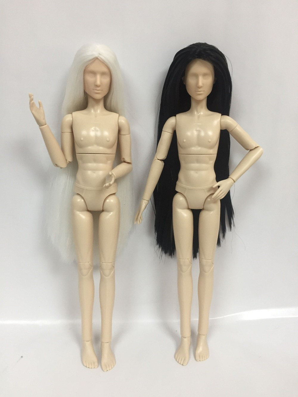 Muñeca masculina desnuda, DIY para muñecas, OB doll, sin maquillaje, muñecas masculinas de 31cm