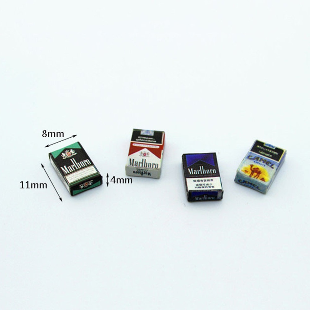 Rc Auto Accessoires Decoratie Mini Sigaret Case Voor 1/10 Rc Rock Crawler Axiale SCX10 Tamiya RC4WD D90 TF2 Traxxas TRX-4