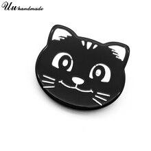 Vintage chat mignon broches acrylique broche bijoux émail broche hello kitty broches broche épinglette broches pour femmes bts accessoires
