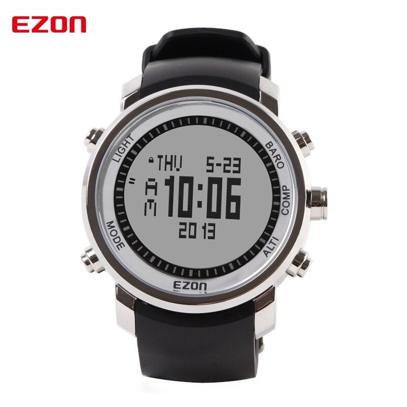EZON-reloj Digital H506 para hombre, altímetro brújula barómetro, al aire libre para...