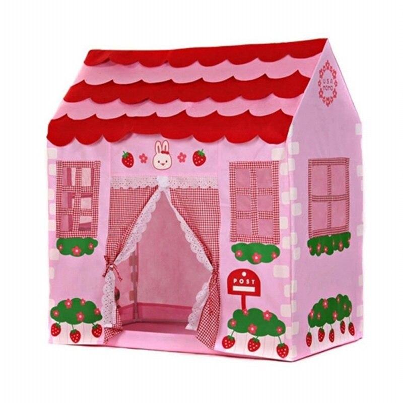 Casa de juegos para niñas, casa de ciudad, jardín secreto para niños, tienda de juegos rosa, gran castillo de princesa, regalo, tienda de playa, juguete para acampada, tienda para niños