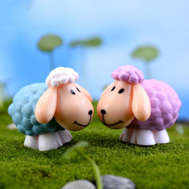 ZOCDOU 1 штука большая овца с ушками Саудовская Аравия барашек козел Азия маленькая статуя фигурка Поделки орнамент миниатюрные поделки домашний декор