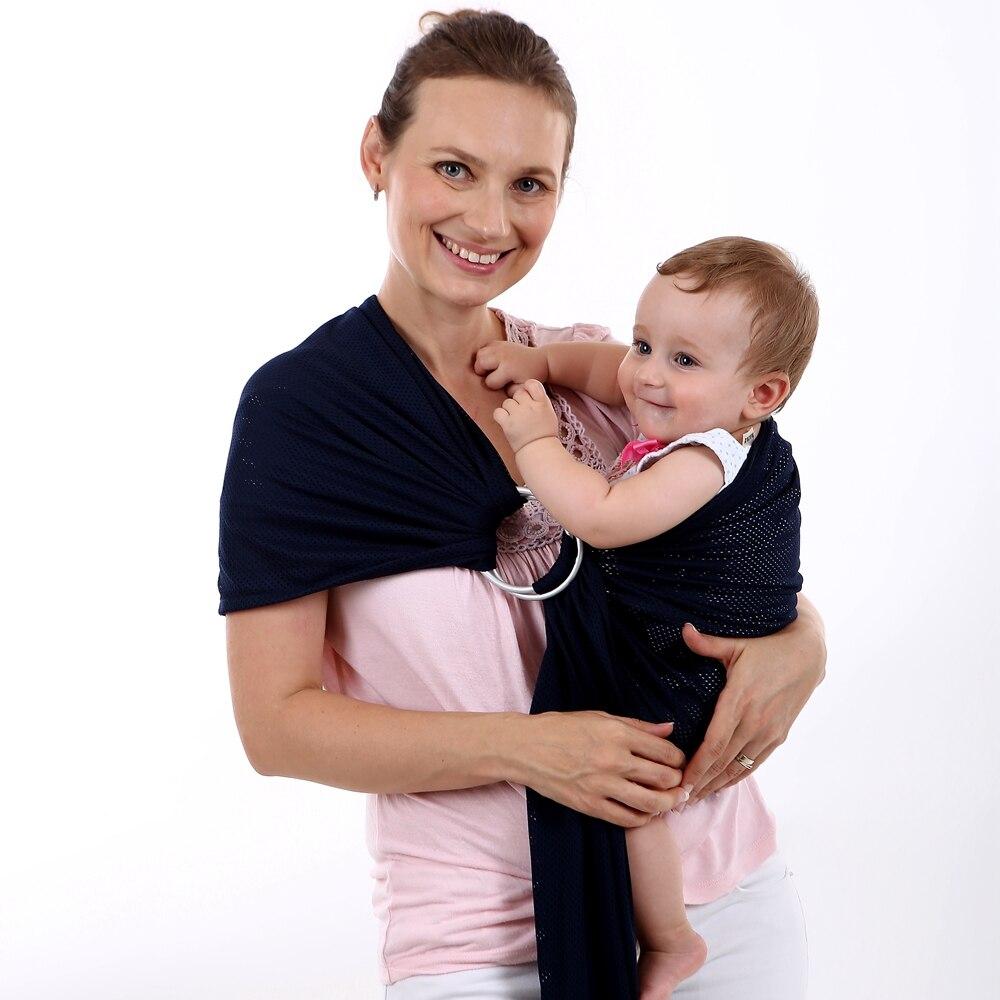 EGMAOBABY Aluminium Einstellbare Ring Baby Träger Kleinkind Sling Carrier Wasser Mesh Schnell Trocknende Slings Stretchy Wrap
