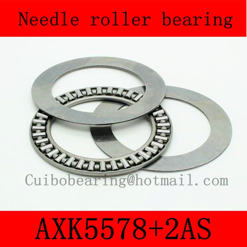 58X78X3mm AXK5578+2AS thrust needle roller bearing AXK5578TN just for sales volume
