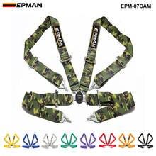 """Universal 4-Punkt 3 """"Nylon Strap Harness Sicherheit Camlock Racing Sitz Gürtel EPM-07CAM"""