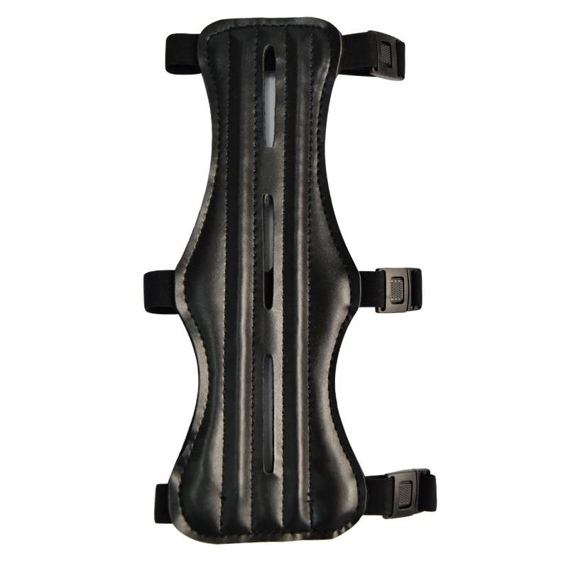 1 protector de brazo de 8,5 pulgadas 22cm camuflaje negro protección de tiro guante para engranajes accesorios arco de Tiro con Arco envío gratis