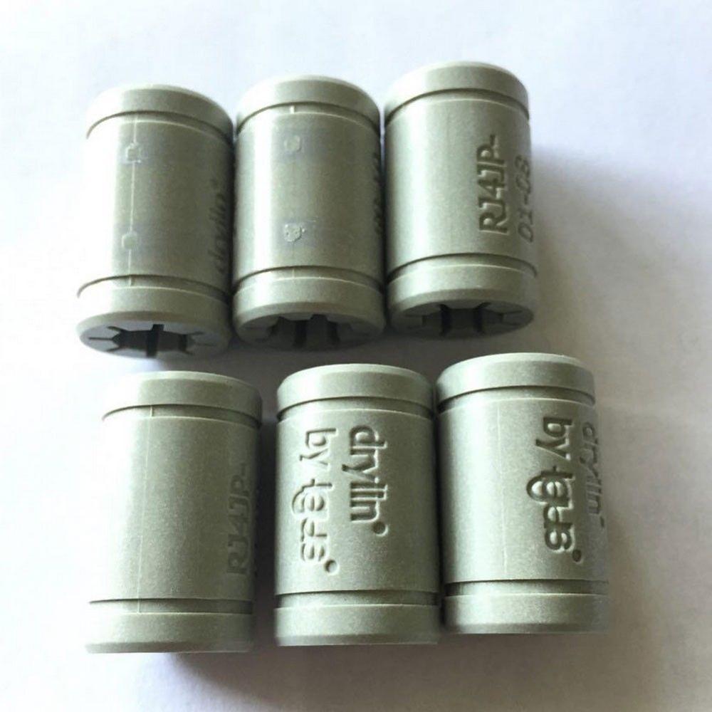 Funssor твердый полимерный LM8UU подшипник 8 мм вал Drylin RJ4JP-01-08 для Anet Reprap Prusa i3 3D принтера