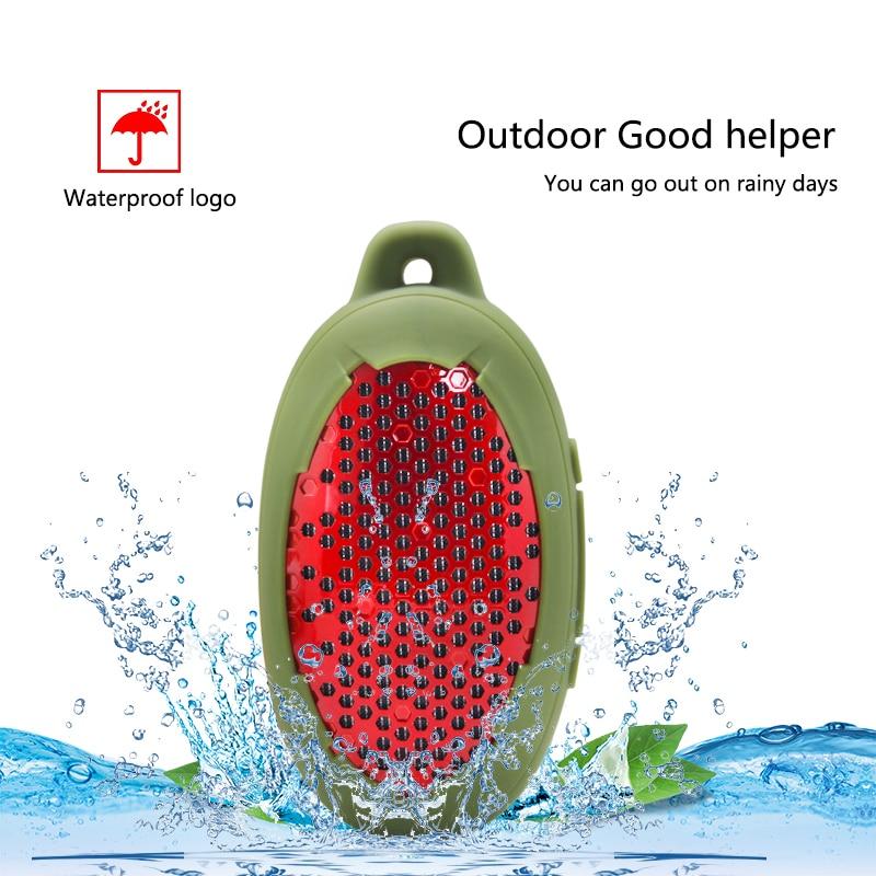 Altavoz bluetooth portátil impermeable altavoz inalámbrico manos libres para escalada al aire libre, altavoz de la bicicleta de la ducha juego de agua móvil