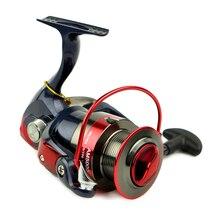 AM2000-AM7000 Spinning Fishing Reel Fixed Spool Reels Coil 12BB 5.5:1 Fishing Wheel Fish Tool &T8