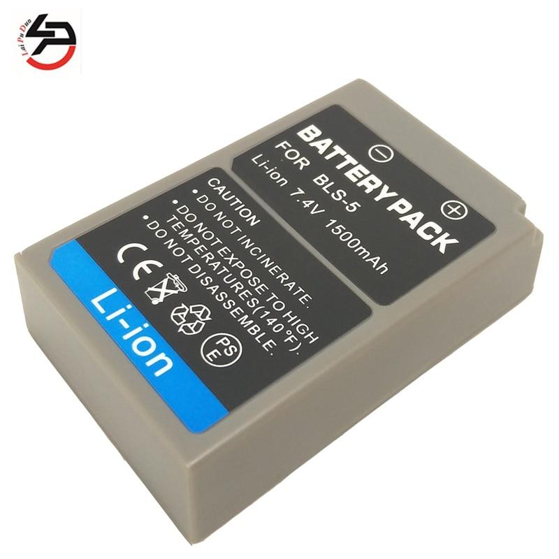 Laipuduo 7.4 V Li-Ion1500mah para Olympus EVOLT E410 E400 E-620 E-420 E-450 EP-1 EP-2 EPL-1