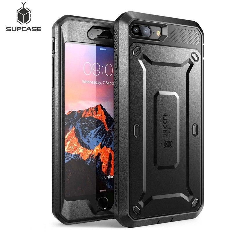 SUPCASE Für iphone 8 Plus Fall UB Pro Series Full-Körper Robuste Holster Schutzhülle mit Integrierten Bildschirm Protector